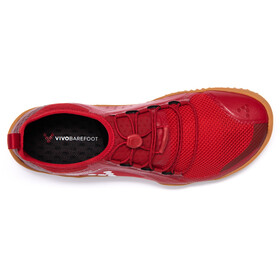 Vivobarefoot Primus Trail SG Mesh Hardloopschoenen Heren rood
